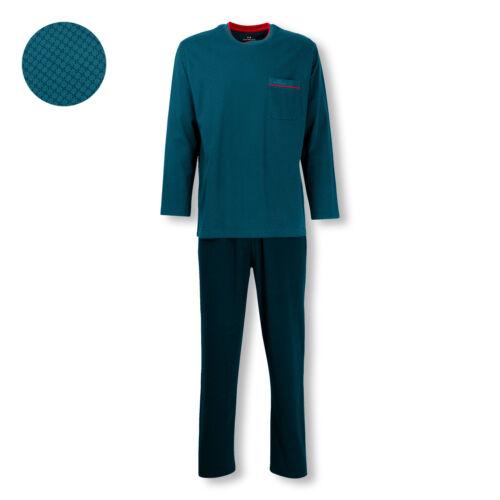 Götz Castello Uomo Pyjama Set sonno Tuta MANICA LUNGA PURE COTTON S M L XL 2xl 3xl 4xl