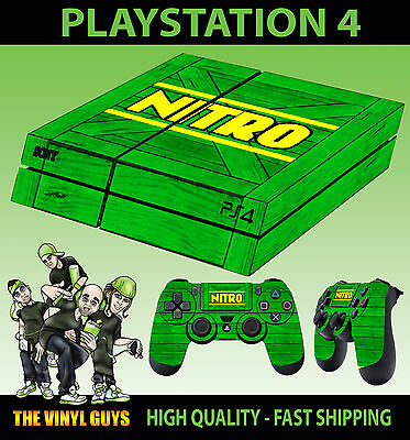 Video Game Accessories Video Games & Consoles Obedient Ps4 Piel Nitro Cajón Verde Crash Bandicoot Nuevo Pegatina 2 X Pad Vinilo Lay Grade Products According To Quality