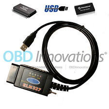 ELM327 USB OBD2 Scanner Modified HS CAN MS CAN Switch FTDI FT232RL + PIC18F25K80