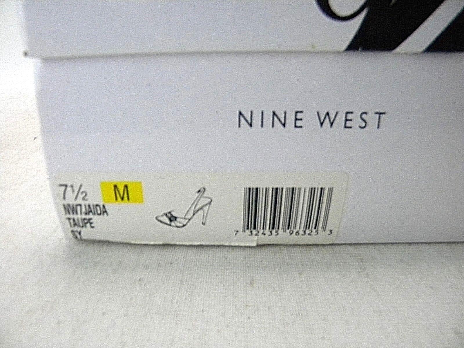 Nine West West West NW7JAIDA Taupe 7 1 2 (Y2) 93dd10