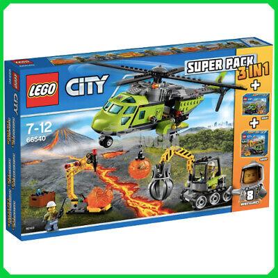 Lego 66540 Super Pack 3 in 1 Vulkan NEU /& OVP
