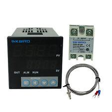 Inkbird ITC-106VH 100-240V PID Temperature Thermostat Controllers + K + 40DA SSR