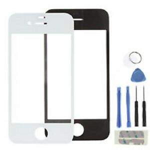 iphone 4 glass replacement kit black or white iphone 4 4g or 4s front glass screen 1891