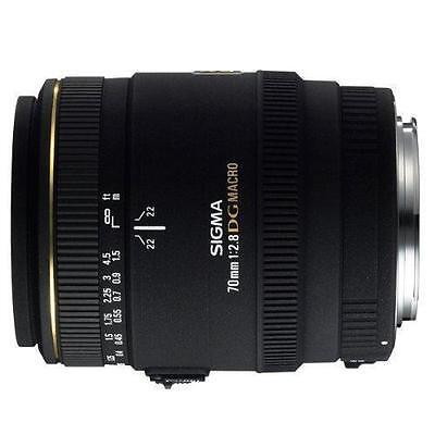 Sigma EX 70mm f/2.8 EX DG Lens macro NIKON mount