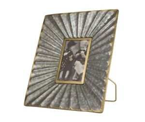 5x7-034-Picture-Frame-Golden-Memories-Metal-Table-Top-Wall-Photo-Frame