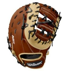 52e374a1ec9 Wilson A2K 1617 Leather 12½ First Base Mitt WTA2KRB181617 Copper ...