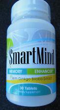 Natures Best Solution Smart Mind Ginkgo Biloba 60mg/tab 30 tabs Set of 2 bottles
