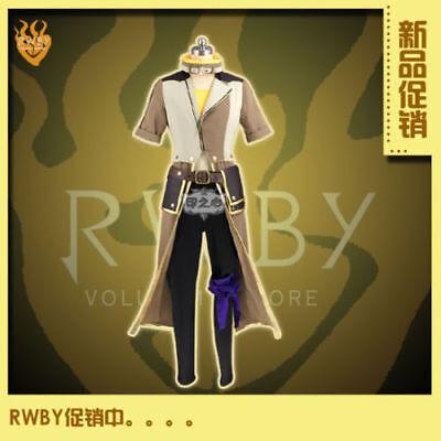 Hot!RWBY Yellow Yang Xiao Long Daily Wear Halloween Set Cosplay Costume
