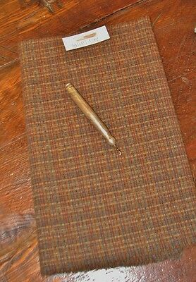 1//4 YD 100/% WOOL FOR RUG HOOKING OR WOOL APPLIQUE ~ SPECKLED GOLD