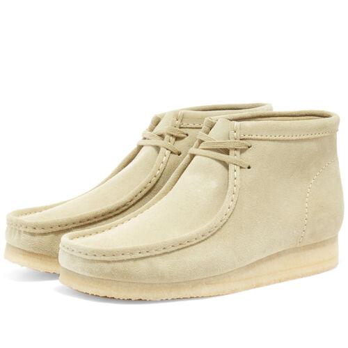 Men/'s Clarks Originals Maple Suede Wallabee Boots MSRP $160 Crepe Leather Chukka