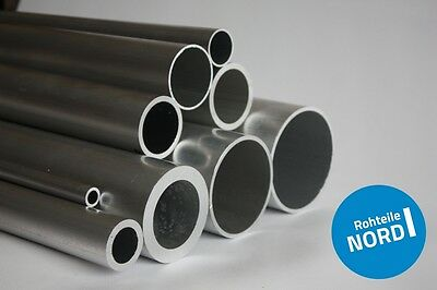 35cm auf Zuschnitt L/änge 350mm Aluminium Rundrohr AlMgSi05 /Ø 40x2mm