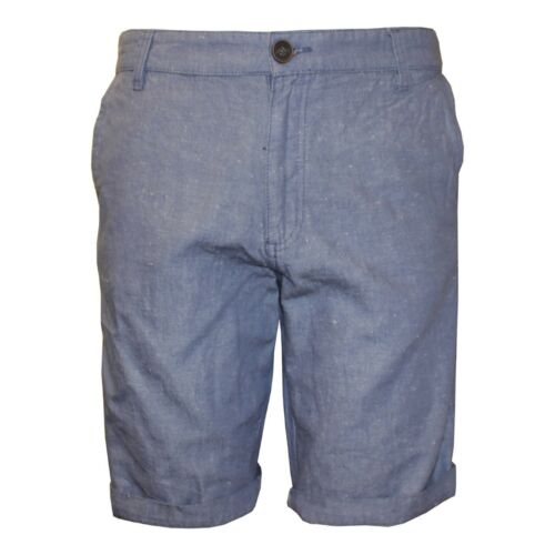 S XXL Ek Cherokee Men/'s Flat Front Summer Holiday Shorts in Light Blue