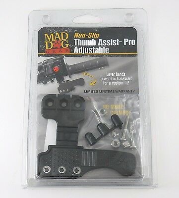Thumb Throttle Extender for ATV 4 Wheeler Accessories MadDog Gear Assist Control