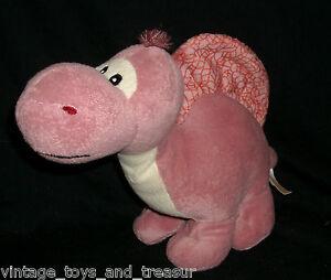 11 Circo Pink Stegosaurus Dinosaur Stuffed Animal Plush Toy Target