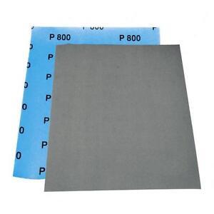 format 230 x 280mm 4 Feuilles abrasives a l/'eau carrosserie grain P800