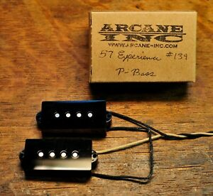 57 Experience P bass By Arcane Inc.  Hand wound