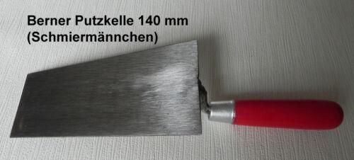 Maurerkellen Set 4tlg. Gipserspachtel 60 Katzenzunge, Berner Putzkelle