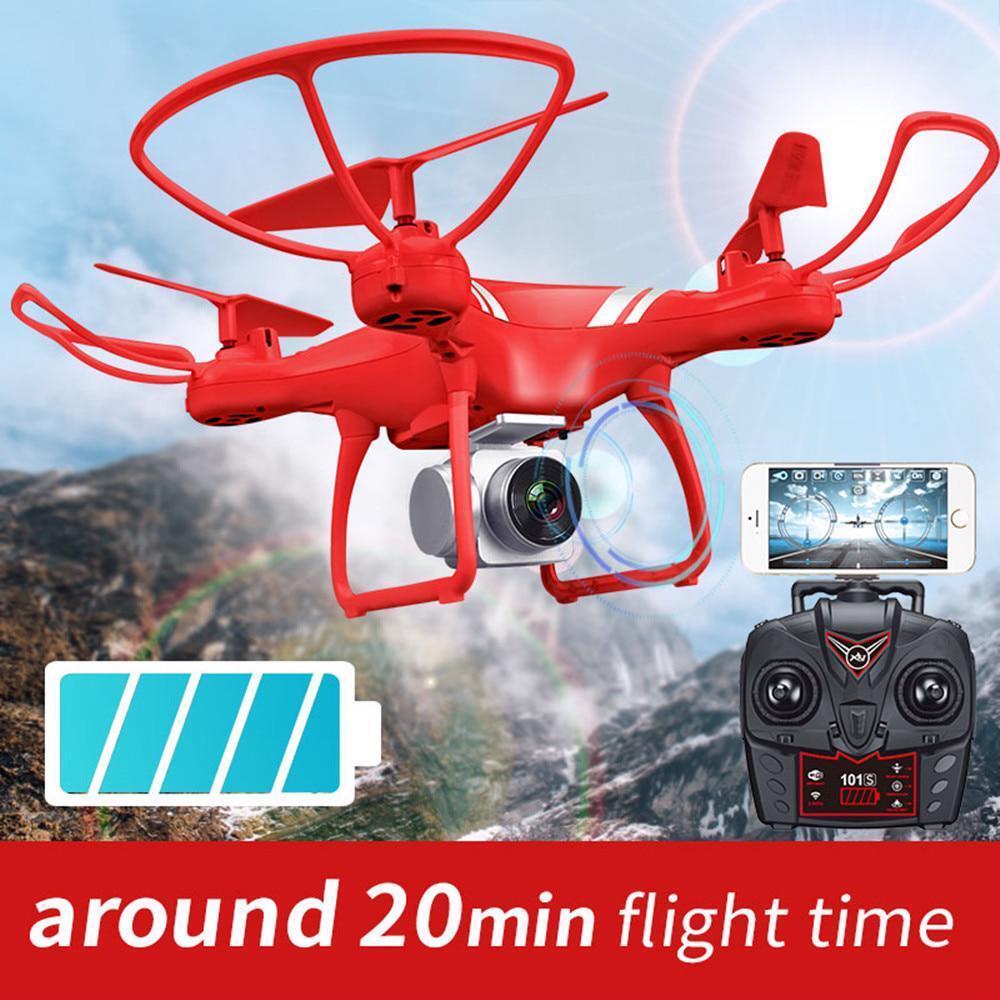 Drone quadricóptero Cámara HD Wi-fi FPV 5.0MP 1080P 2.4G RC helicóptero Drones Conjunto