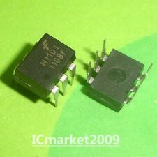 300 Volts H11D1 6-Pin DIP Optoisolators High Voltage Transistor Output