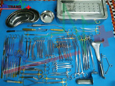 94 Pcs C Section Set Ob Gynecology General Surgery Set Gold Plated Surgical