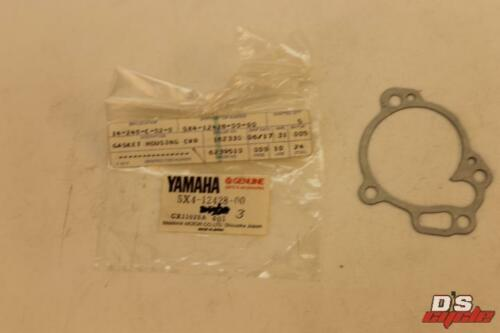 YAMAHA YZ125 1982 WATER PUMP HOUSING GASKET NOS//OEM AHRMA YZ125J 5X4-12428-00-00