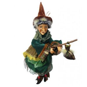 wopmaur50gree 50cm Maureen Sorcière Battant vert Romantic Witches Of Pendle