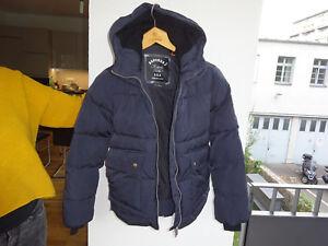 cheap for discount f8976 660e3 Details zu SUPERDRY Midwest Parks G50028GP USA Navy Damen Luxus Jacke Blau  Gr.L Neu
