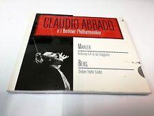 Claudio Abbado Berliner Philharmoniker Mahler Sin 4  Berg Sieben Fruhe Lieder CD