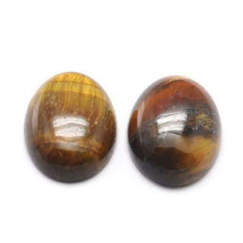 Tiger Eye Oval Cabochon 22 x 30mm Yellow//Black  Wire Wrapping Jewellery Making