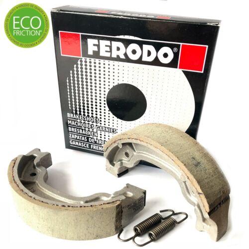 YAMAHA V 50 M 1983 Eco Friction Ferodo Front Brake Shoes