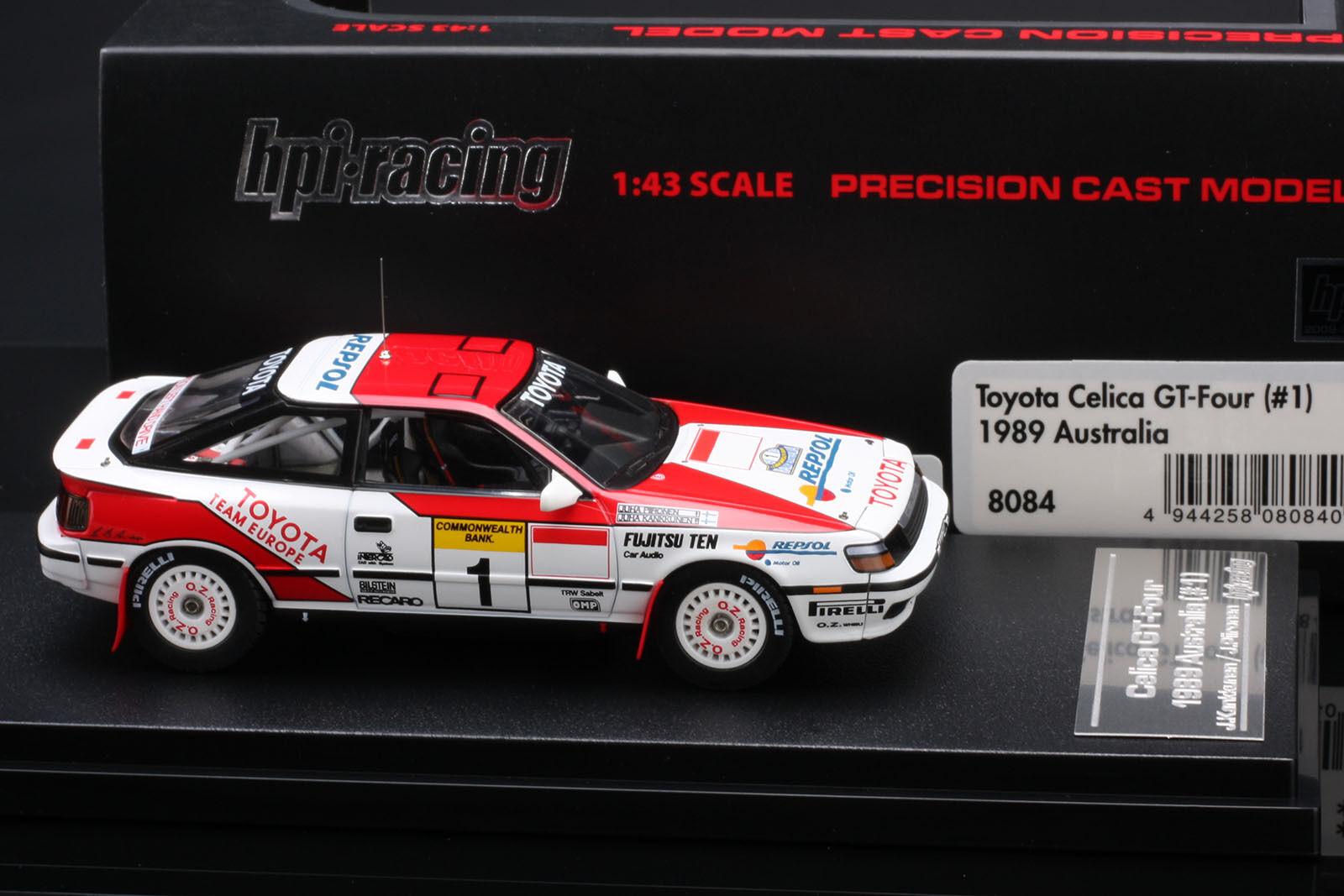 Toyota CELICA GT-Four Australia Rally  Juha Kankkunen  - Hpi  43