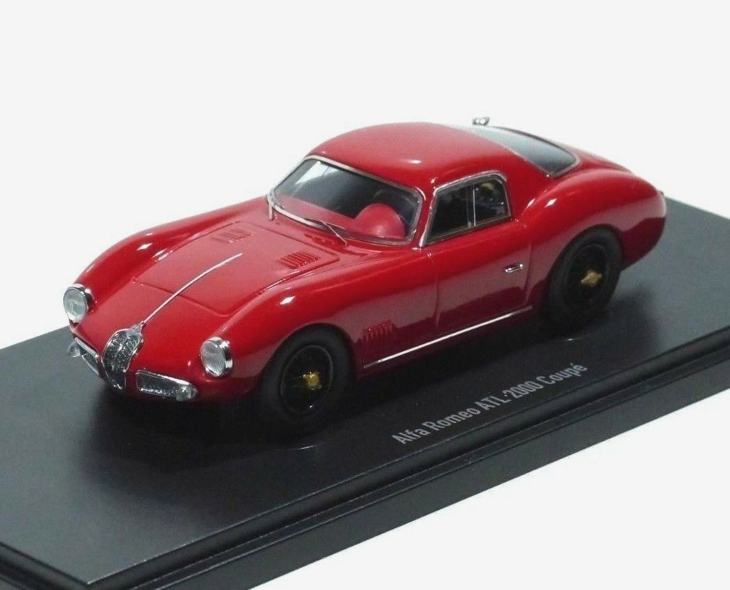 Autocult neue ist - alfa romeo am sport - coup é 2000 baujahr 1953 rot 1 43 333.
