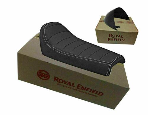 Royal Enfield Gt Continental 650 Einzel Rider Sitz Mit Schwarz Wasserfall