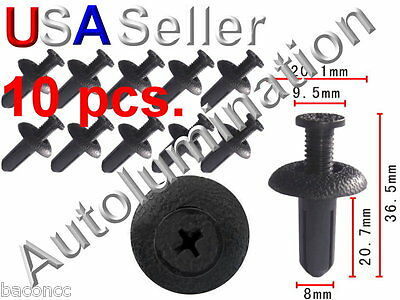 Honda Acura Bumper Retainer Fascia Phillips Clip Rivet Accord 91504-SM4-000