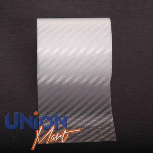 Clear Carbon Fibre Effect Helicopter Bike Frame Protection Tape 50mm Width