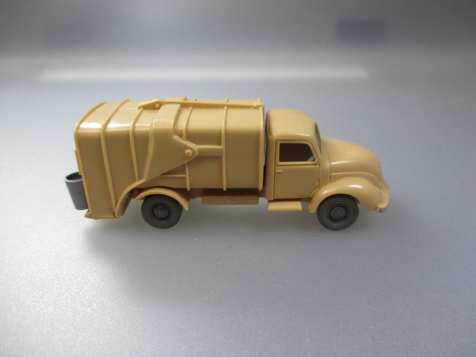 Wiking Wiking Wiking Magirus Müllwagen mit losen Tonnen  (SSK68) b941df
