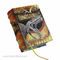 Dinosaurios In Spanish Legible Miniature Book Hardcover With Illustrations