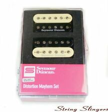 Seymour Duncan Distortion Mayhem Humbucker Pickup Set, Zebra 11108-21-Z