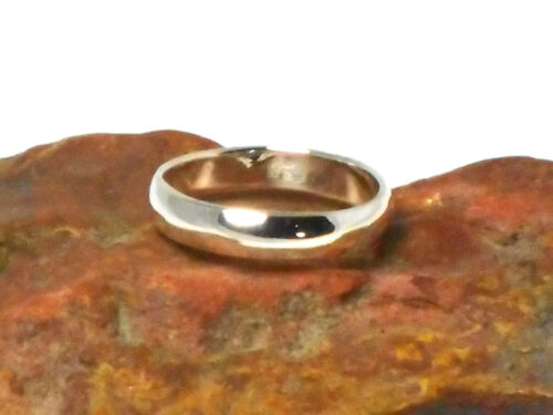 Gift   Boxed! 3 mm   Plain   STERLING  SILVER   925   Ring Size  U