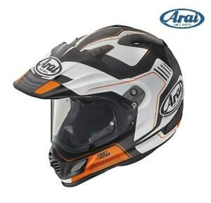 CASCO MOTO INTEGRALE ARAI TOUR-X4 VISION ORANGE NERO/BIANCO/ARANCIONE OPACO