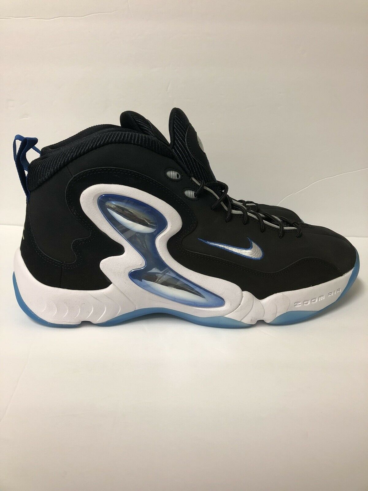 NIKE ZOOM HAWK FLIGHT CLASS OF 97 PACK PENNY BLACK WHITE ROYAL blueE 805272-001