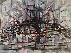 PIET-MONDRIAN-TREE-ABSTRACT-DARK-PAINTING-ART-PRINT-POSTER-PICTURE-HP1028