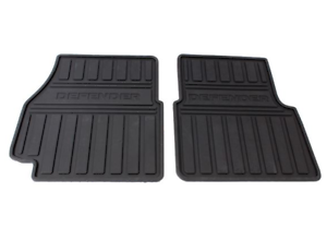 LAND-ROVER-DEFENDER-Front-Floor-Mats-Set-LHD-LR005039-NEW-GENUINE