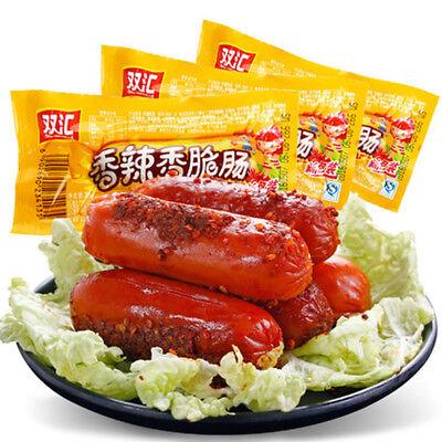 240g x 3 Shuanghui Ham Sausage Chinese Snack Food 中国双汇泡面拍档搭档火腿肠即食香肠零食小吃