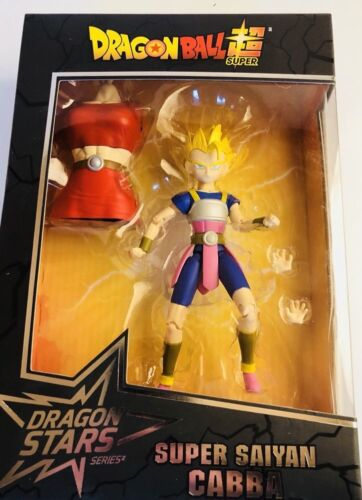 Dragon Ball Super Super Saiyan Cabba New /& Sealed Kale BAF Stars Figure