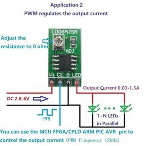 DC-3V-3-3V-3-7V-5V-6V-Adjustable-LED-Driver-PWM-DC-DC-Constant-Current-Converter