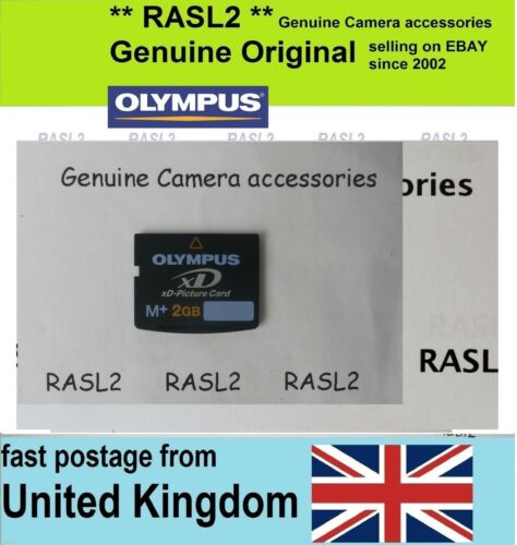 tarjeta de memoria XD tipo M Original Olympus 2 GB XD-Picture Card 2 GB Reino Unido Vendedor
