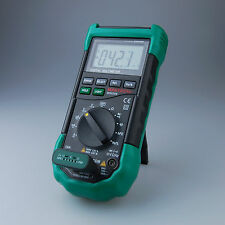 MASTECH MS8268 Digital Multimeter Sound Light Alarm AutoRange FuseFrequency Test