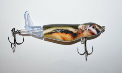 """4/"""" Mouse Plopper Swimbait Fishing Lure by Short Fuse Lures Realistic Action"""