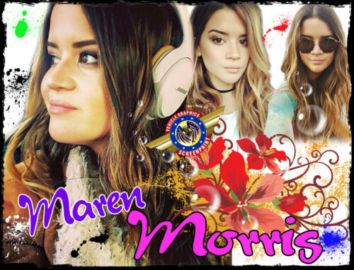 "Maren Morris /"" Rock Star /"" Personalized T-shirts"